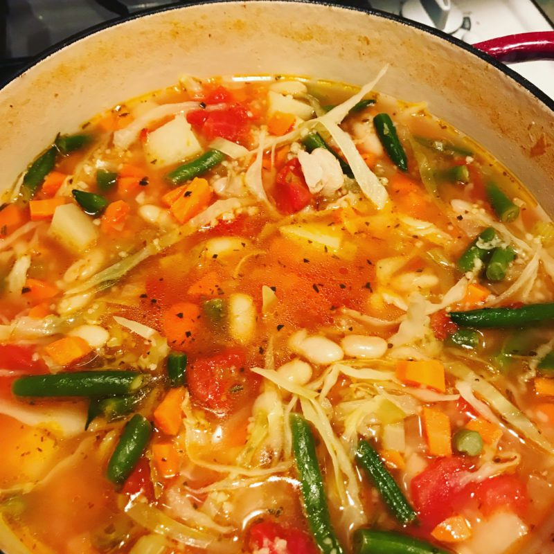 Warm and Inviting Minestrone