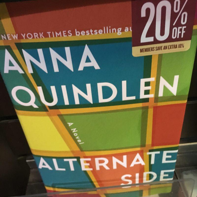What I'm Reading :: Alternate Side