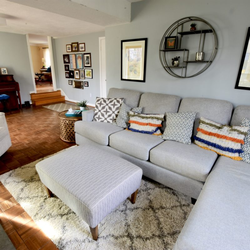 Before/After :: Refreshing a Family Room