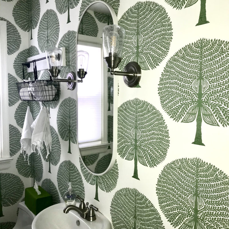 Before/After :: Personalizing My Powder Room