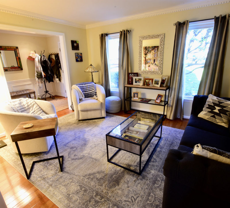 Before/After :: A Glow-Up in the Living Room