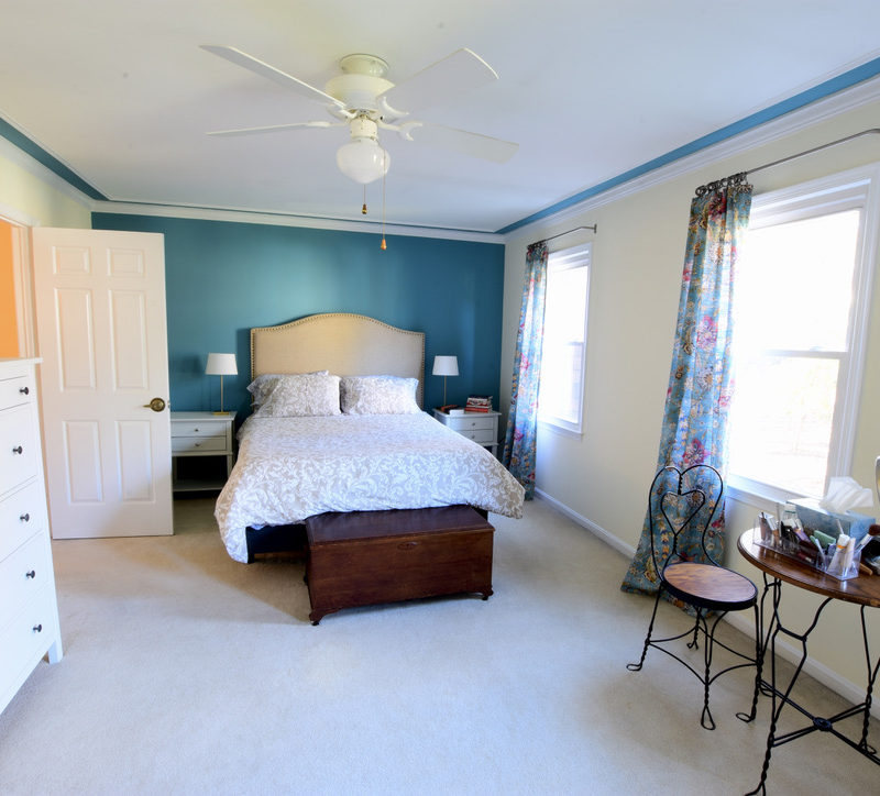 Before/After :: Personalizing A Master Bedroom