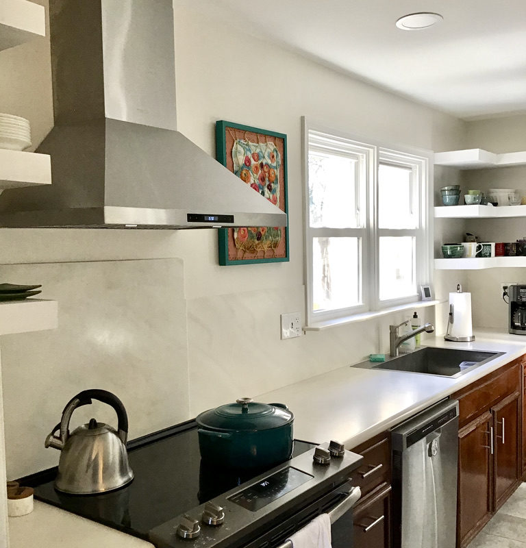 Before/After :: Simple Changes Pack a Punch in our Kitchen