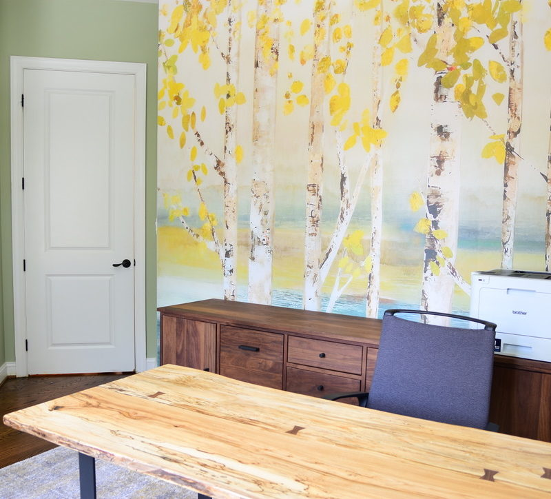Before/After ::  A Dreamy Home Office