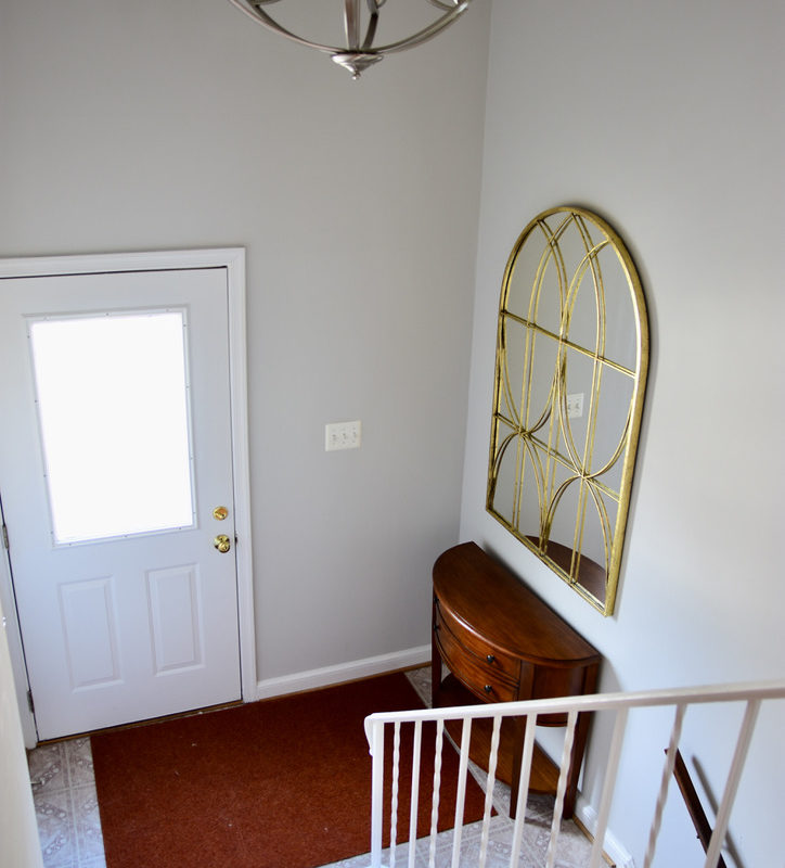 Before/After :: Simple Changes in the Entry