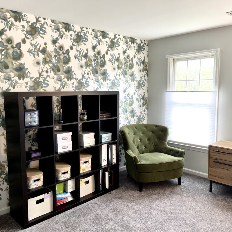 Before/After ::  A Lovely Home Office in the Age of Zoom