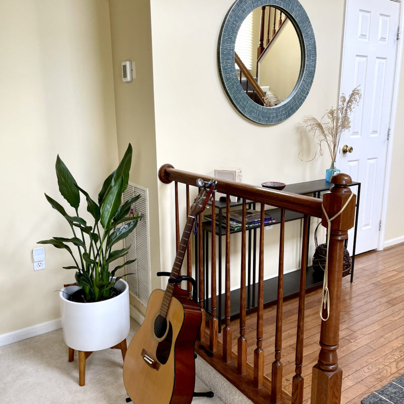 Before/After :: A Welcoming Entry